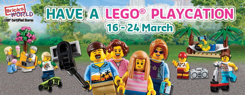 LEGO Certified Stores Bricks World March Playcation