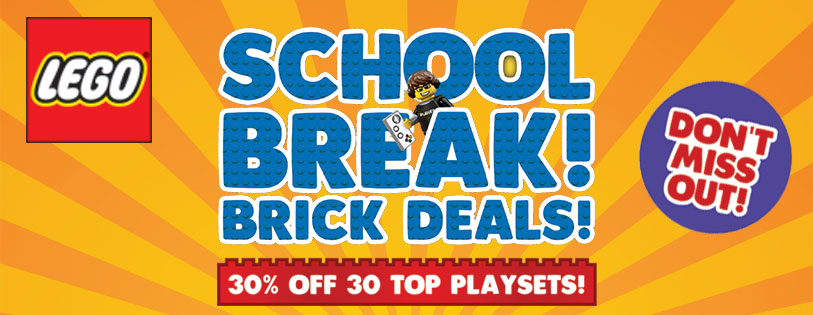 LEGO Certified Stores Bricks World March 2019 School Holiday Promotion