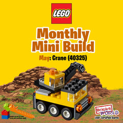LEGO Monthly Mini Build 40325 Crane May 2019