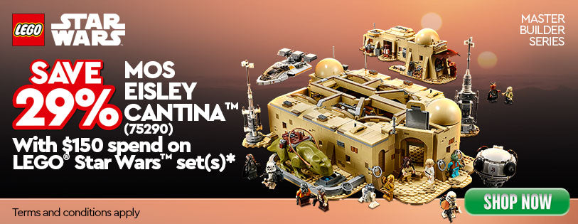 LEGO Star Wars Mos Eisley Cantina 75290 Promotion