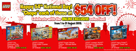 LEGO National Day discounts