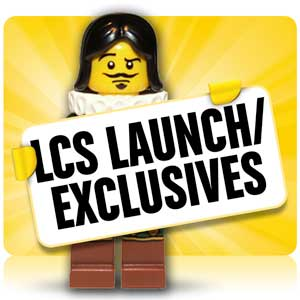 LEGO LCS Launch/Exclusives