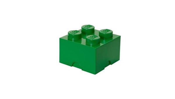 3400348 LEGO Storage Brick 4 - Dark Green - LEGO® Bricks World
