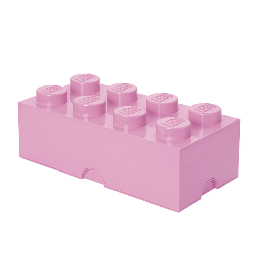 3400485 LEGO Storage Brick 8 - Light Purple - LEGO® Bricks World