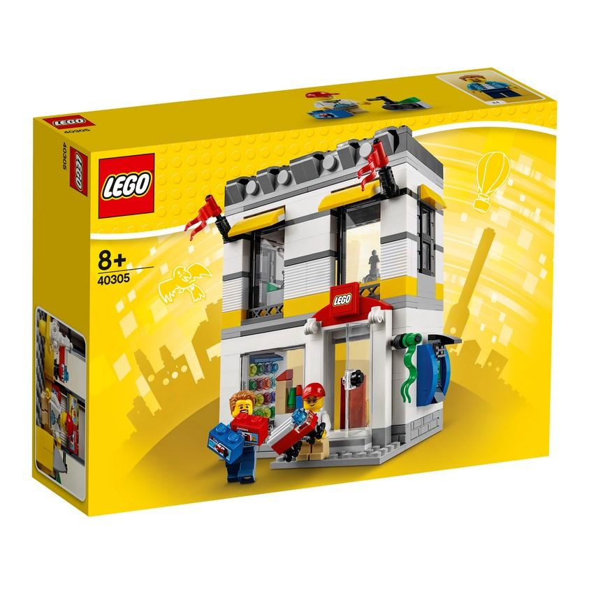 40305 Microscale LEGO® Brand Store - LEGO® Bricks World