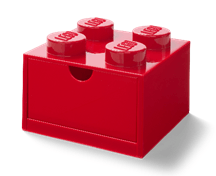8032067 Desk Drawer 4- Red - LEGO® Bricks World
