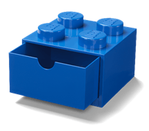 8032074 Desk Drawer 4- Blue - LEGO® Bricks World