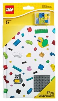 853798 Notebook with Studs - LEGO® Bricks World