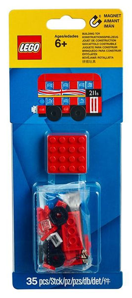 853914 London Bus Magnet Build - LEGO® Bricks World