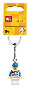 854032 LEGO® New York Key Chain - LEGO® Bricks World