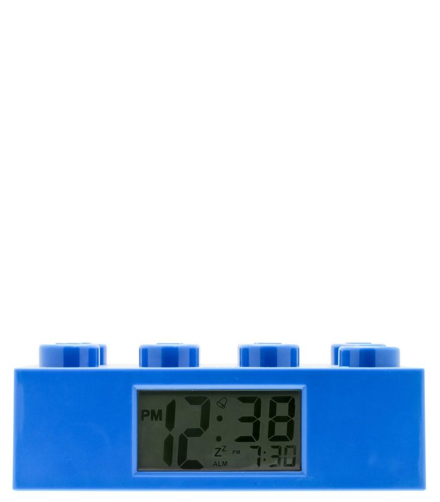 9002151 Alarm Brick Clock Blue - LEGO® Bricks World
