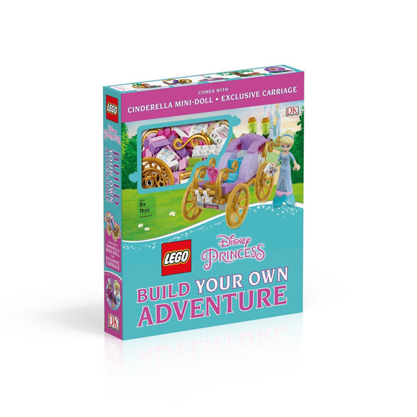 9780241318638 LEGO® Disney Princess Build Your Own Adventure - LEGO® Bricks World