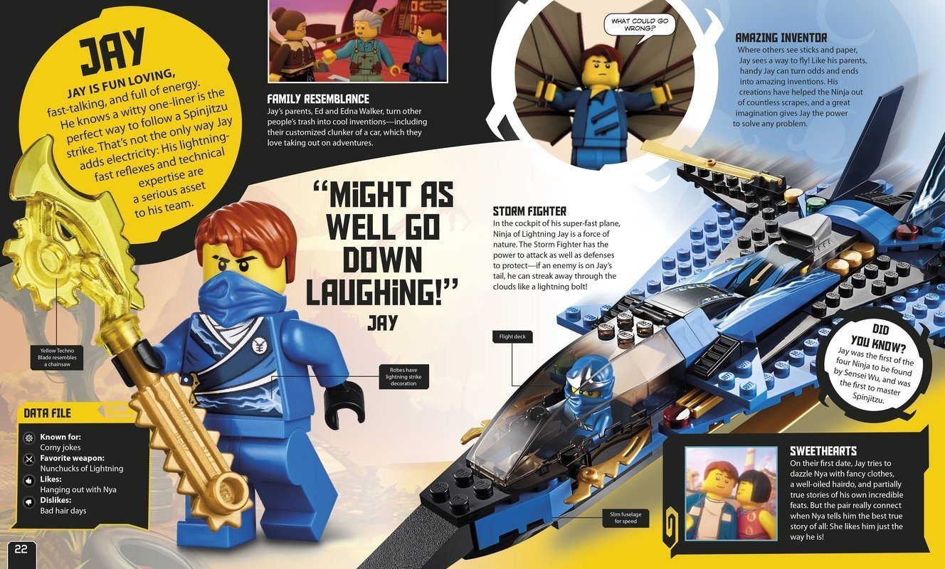 For Home - 9781409352624 LEGO® Ninjago Secret World Of The Ninja
