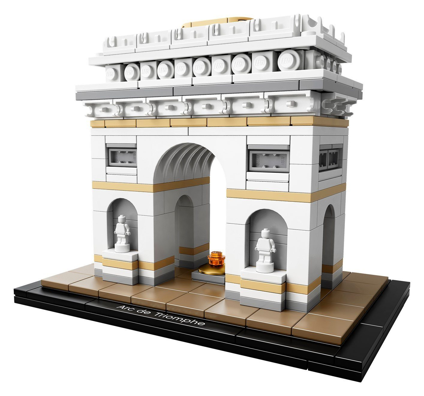 21036 Arc de Triomphe - LEGO® Bricks World