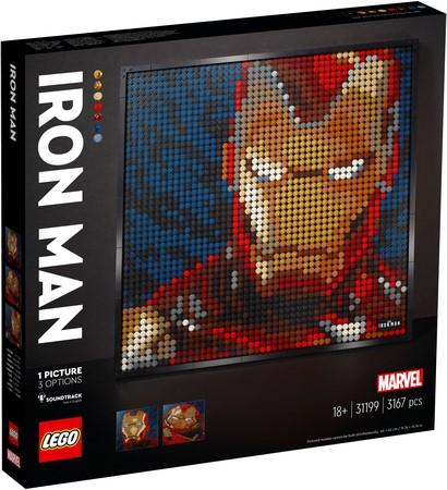 LEGO® Art - 31199 Marvel Studios Iron Man