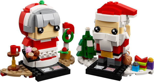 40274 Mr. & Mrs. Claus - LEGO® Bricks World