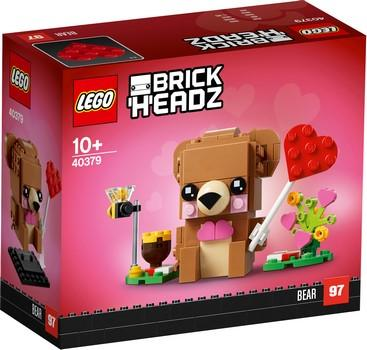 40379 Valentine's Bear - LEGO® Bricks World