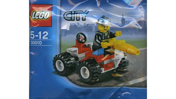 30010 City Fire Chief Polybag - LEGO® Bricks World