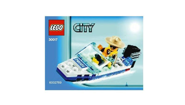 30017 City Police Boat Polybag - LEGO® Bricks World