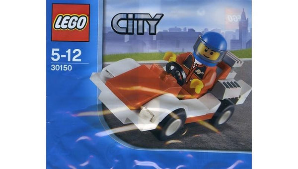 30150 City Race Car Polybag - LEGO® Bricks World