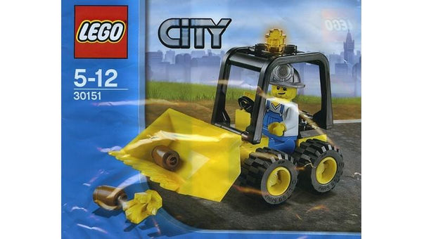 30151 City Mining Dozer Polybag - LEGO® Bricks World