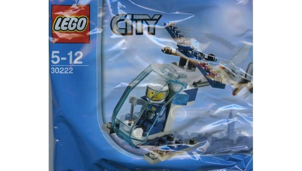 30222 CITY POLICE HELICOPTER POLYBAG - LEGO® Bricks World