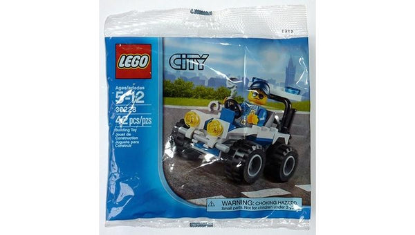 30228 Police ATV Polybag - LEGO® Bricks World