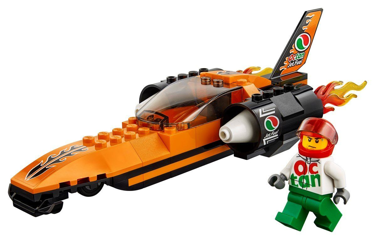 LEGO® City - 60178 Speed Record Car