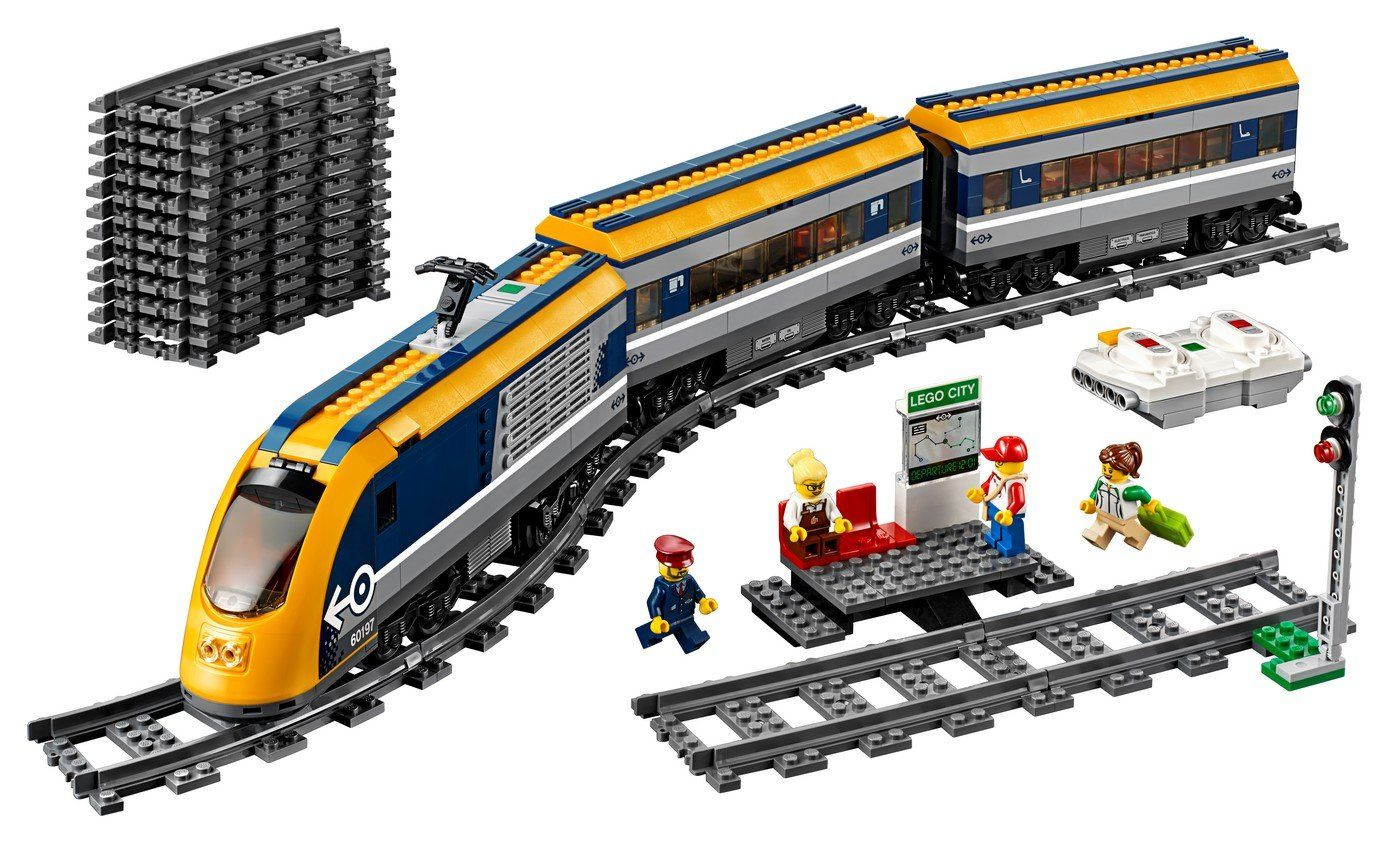 60197 Passenger Train - LEGO® Bricks World