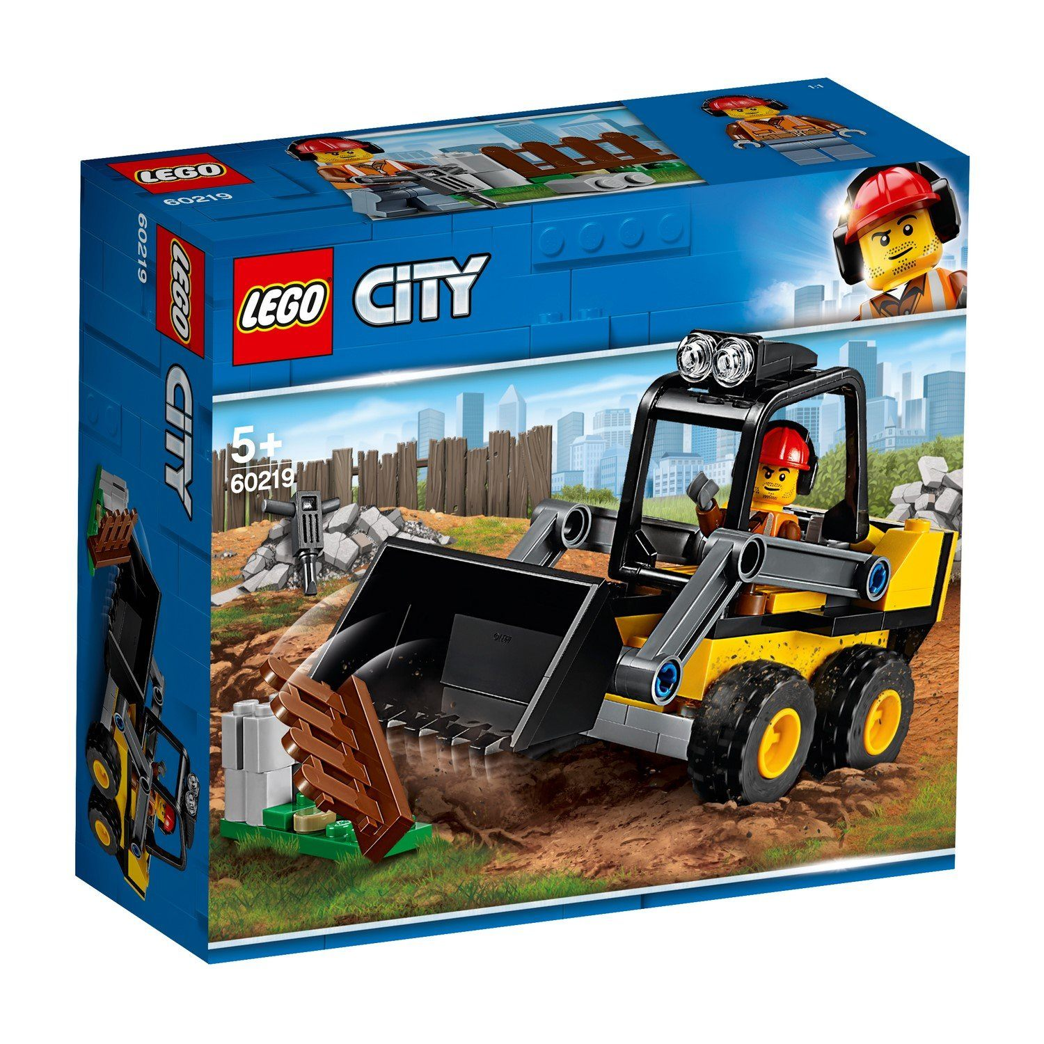 60219 Construction Loader - LEGO® Bricks World
