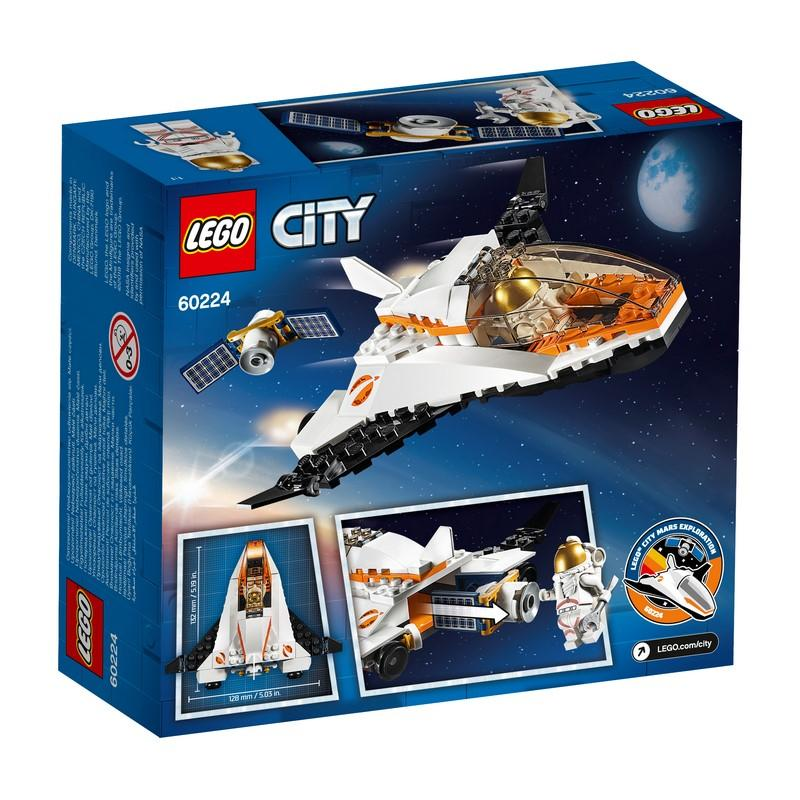 60224 Satellite Service Mission - LEGO® Bricks World