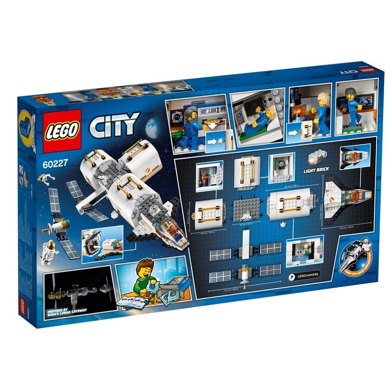 60227 Lunar Space Station - LEGO® Bricks World