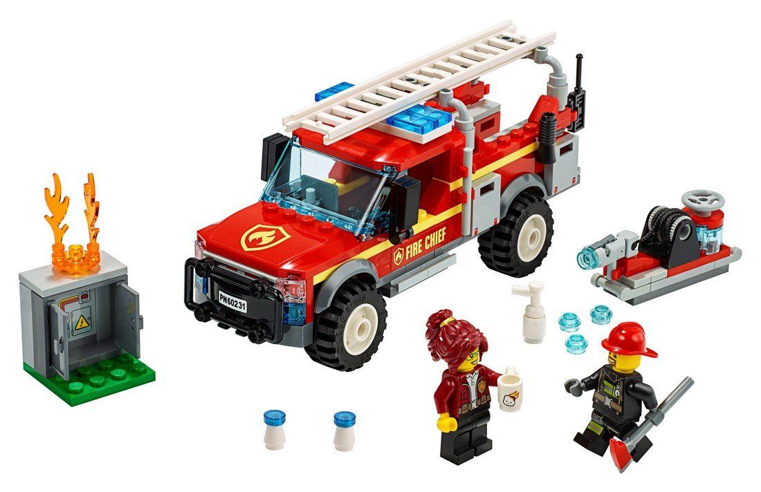 60231 Fire Chief Response Truck - LEGO® Bricks World