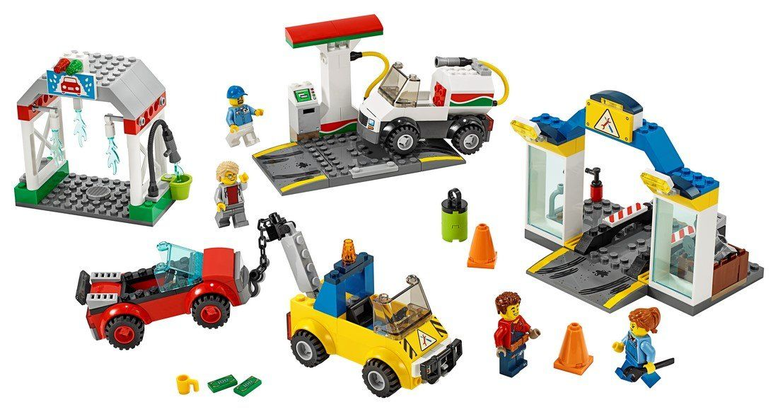 60232 Garage Center - LEGO® Bricks World