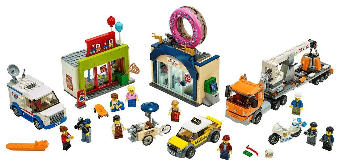 60233 Donut shop opening - LEGO® Bricks World