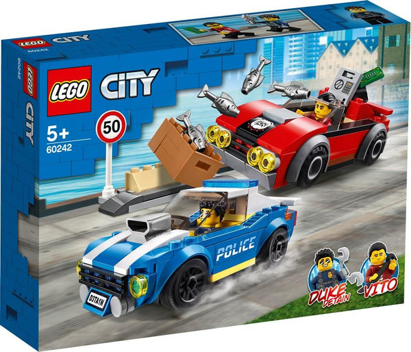 60242 Police Highway Arrest - LEGO® Bricks World