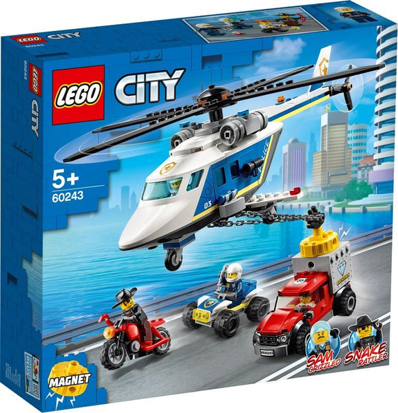 60243 Police Helicopter Chase - LEGO® Bricks World