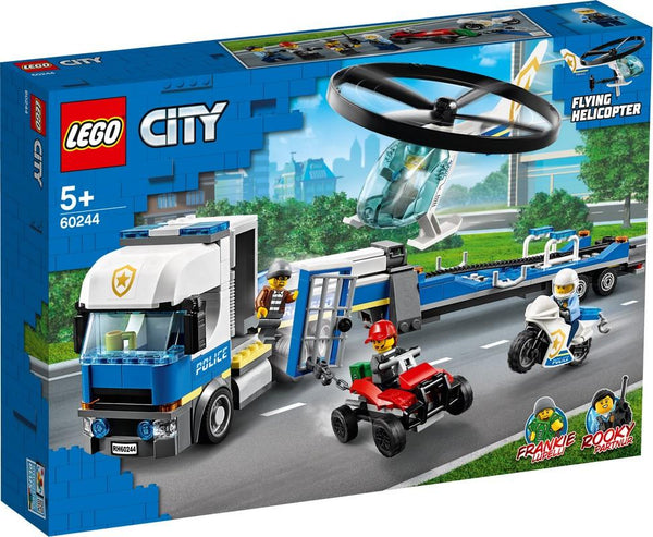 60244 Police Helicopter Transport - LEGO® Bricks World