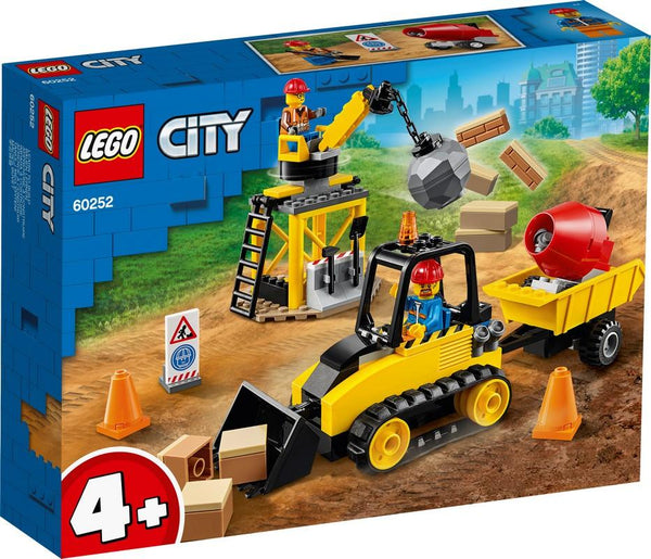 60252 Construction Bulldozer - LEGO® Bricks World
