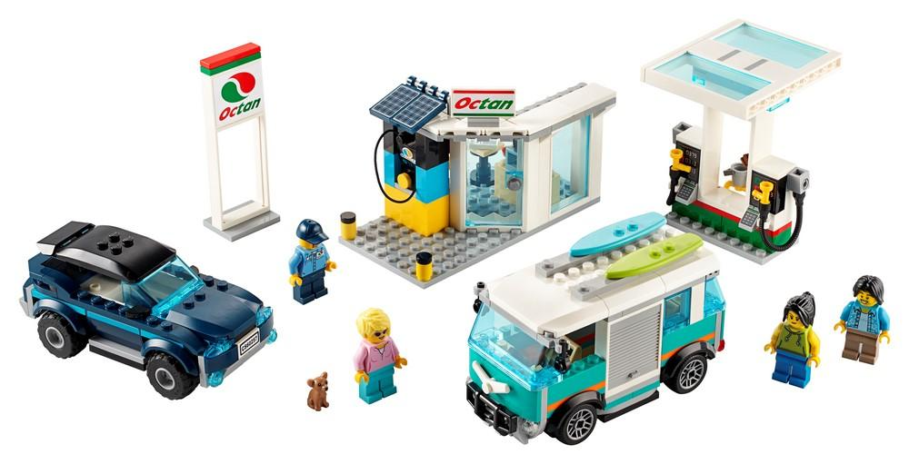 60257 Service Station - LEGO® Bricks World