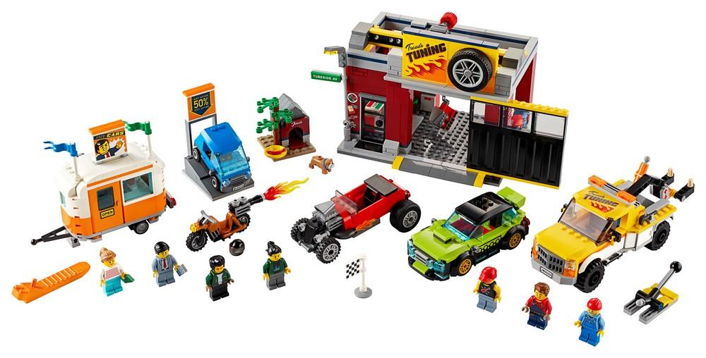 60258 Tuning Workshop - LEGO® Bricks World