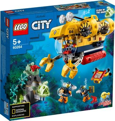 LEGO® City - 60264 Ocean Exploration Submarine
