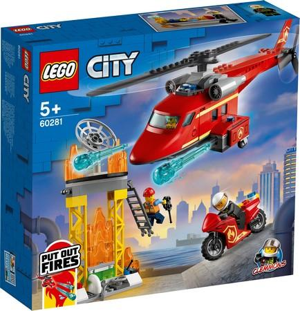 LEGO® City - 60281 Fire Rescue Helicopter