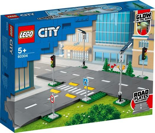 LEGO® City - 60304 Road Plates