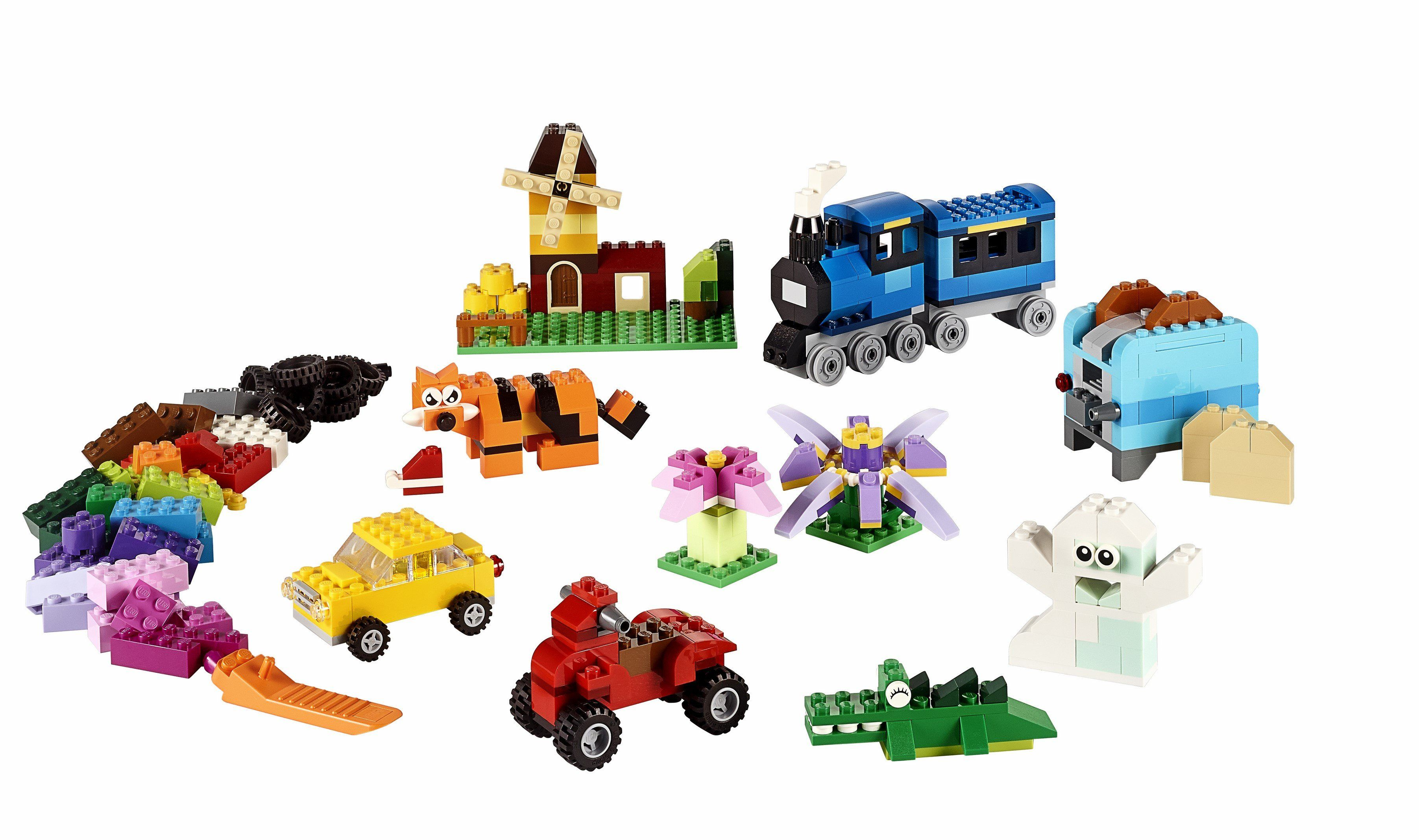 10696 LEGO® Medium Creative Brick Box - LEGO® Bricks World
