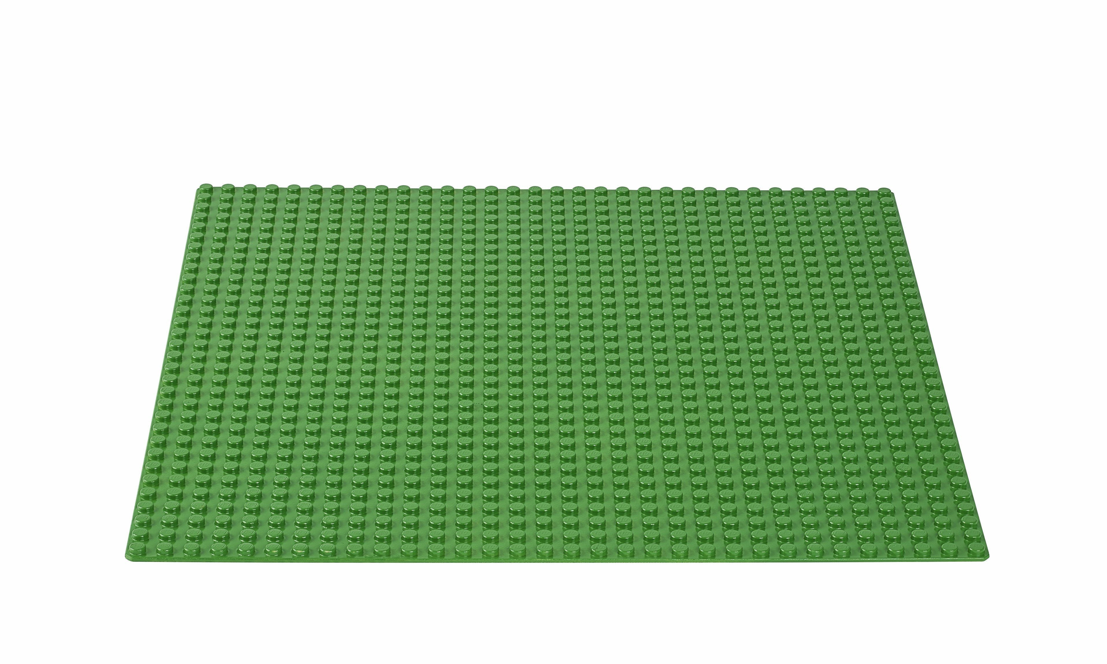 10700 Green Baseplate - LEGO® Bricks World