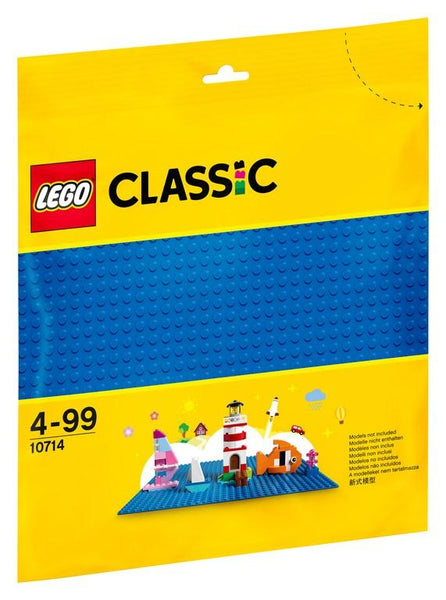 10714 Blue Baseplate - LEGO® Bricks World
