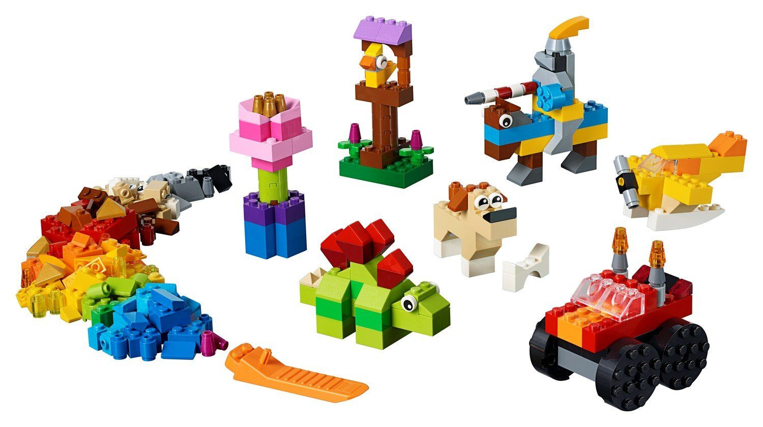 11002 Basic Brick Set - LEGO® Bricks World