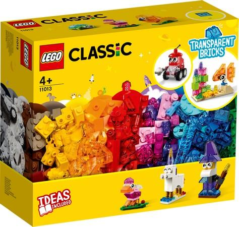 LEGO® Classic - 11013 Creative Transparent Bricks