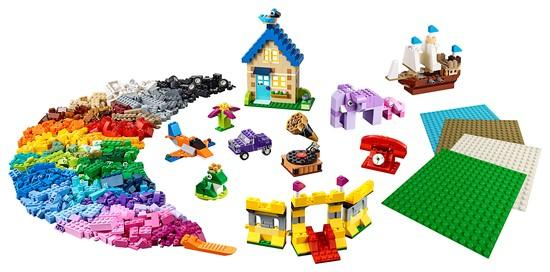 11717 Bricks Bricks Plates - LEGO® Bricks World